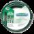 """Шланг поливочный Idrocolor Ду=3/4""""(19мм), l=25м (Италия), темно-зеленый"""